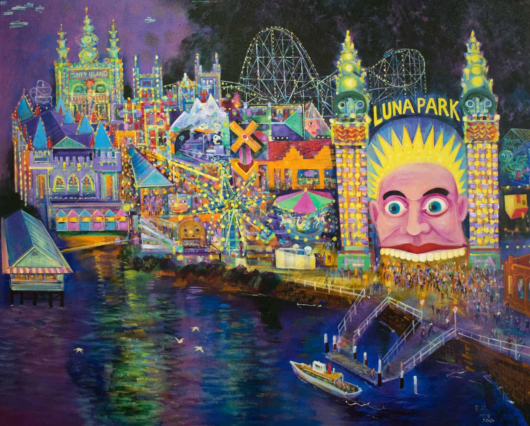 Victor Rubin - Luna Park 2 Revisited